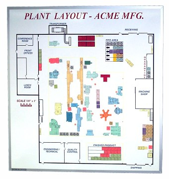 how to make plant layout in autocad