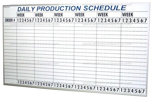 Staggering Manufacturing Production Schedule Template: Manufactura Tableros De Control De Pozo Tableros De